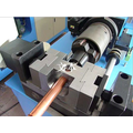 CNC copper tube flute hole punching and perforating machine