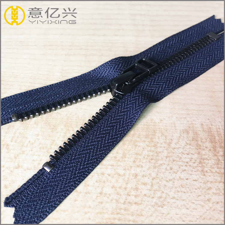 auto lock metal zipper