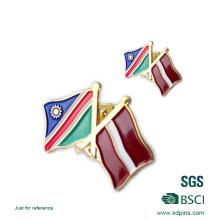 Оптовая металла Национальный флаг Лацкан pin (хD-0904)