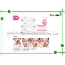 Drawing Eyebrow Aid Tools, Mini Brow Class Eyebrow Shaping Cards