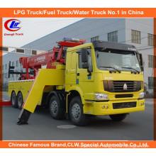 336HP 371HP Heavy Duty Sinotruk HOWO 8*4 Road Wrecker Trucks for Sale