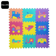 Baby Play Mat Educativo Traffic Puzzle Mat