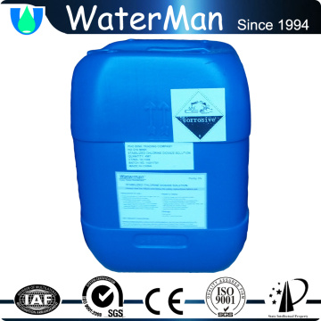 Market gardens disinfection clo2 liquid