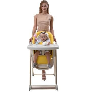 Cadeira alta conversível para bebês para refeições