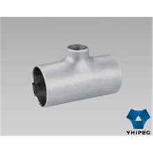 Stainless Steel Butt Welding Pipe Fittings Tee with CE