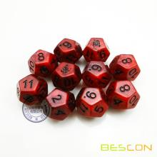 Colorful Custom Dodecahedron 12 Sides Dice