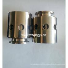 Válvulas de alivio al vacío de presión de tanque de acero inoxidable sanitarias