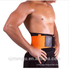 gym back protection belt super thin lower back lumbar support belt/brace