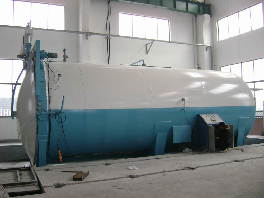 Vehicle Laminated Glass Processing Autoclave