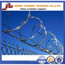 450mm / 730mm / 980mm Razor Barbed Wire / Galvanized Razor Barbed Wire