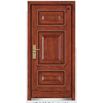 Stainless Steel Wood Armored Door