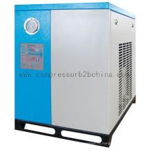 Воздушный компрессор с рефрижераторным осушителем воздуха