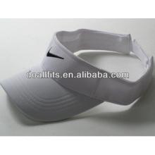 100% poliéster Customized Logo fashion Sun viseira cap
