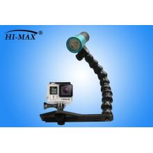 Горячий продавая проблесковый свет V11 2400lm погружая для технологии фотоснимок батареи 1pcs 32650 светлой