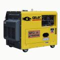 Generador diesel silencioso portátil de 50HZ 5KVA