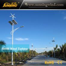 Windy Area Wind Solar Street Light System Power Supply Small Wind Turbine