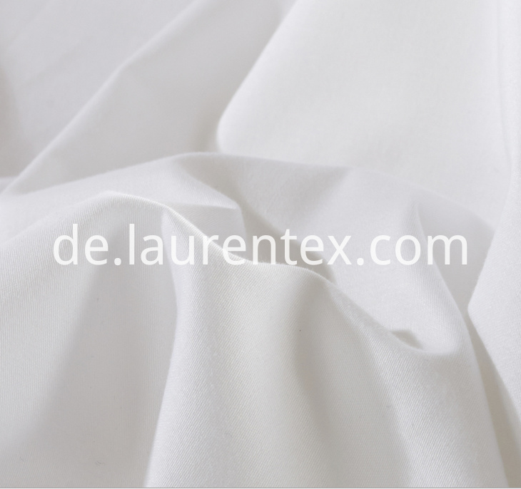 400T Sateen white fabric