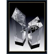 Оптический Кристалл награда Алмазная башня трофей 5 дюймов в высоту (ну-CW764)