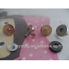 magnet snap buttons of two parts