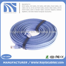 Wholesale 30 FT RJ45 Cat6 Cat6e Flat Lan Cable 10M 30FT