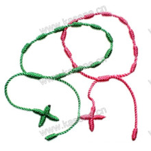 Knotted Rosary Cross Bracelet Cheap Cross Bracelets Give Away Gifts
