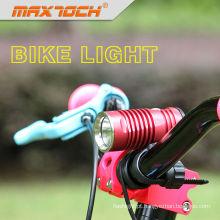 Bicicleta do diodo emissor de luz de cor Maxtoch cavaleiro Cree XML U2 preto ou vermelho