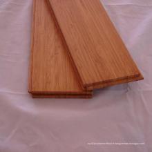 Plancher en bambou vertical de couleur carbonisée