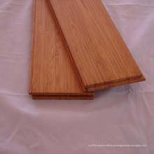 Revestimento de bambu vertical de cor carbonizada
