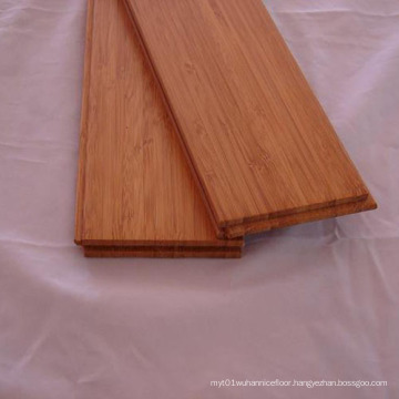 T&G Carbonized Vertical Solid Bamboo Flooring