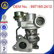 Turbocompresseur- 897185-2412 pour OPEL Z17D Moteur avec ISO9001: 2008 / TS16949 certification TDO25M-06T Turbocompresseur