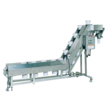 Inclined Bowl Conveyor For Fresh Food In Packaging Line