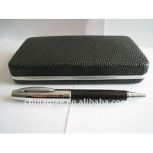 high grade leather pen set