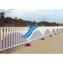 La cerca de hierro de camino / cerca municipal, barrera de camino, cerca temporal, cerca municipal