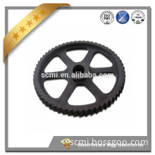 High quality OEM precision investment casting lost wax cast carbon Iron Wheel