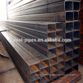 Building materials prices 25x25mm square steel tube