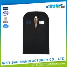 Оптовый non сплетенный черный мешок одежды крышки костюма