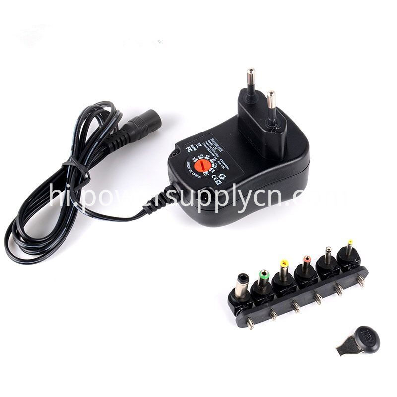 3-12V 12W Adjustable Voltage Power Supply EU Plug