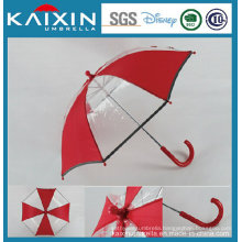 16′′ Safe Manual Open Plastic Poe Straight Umbrella