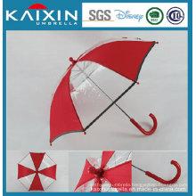 16′′ Safe Manual Open Plastic Poe Straight Umbrella