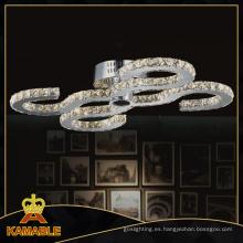 Alta calidad del proyecto de hotel en casa cristal LED lámpara de techo (mx77057-32)