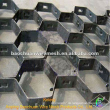 Hochtemperatur-Edelstahl Schildkröte Shell Mesh (Fabrik)