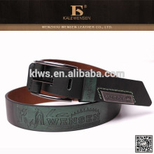 Hot-selling genuine cowhide famous 100% wide pu belt