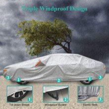 Couverture de voiture extérieure de protection solaire