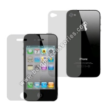 MATTE Anti-Glare Screen Front&Back Full Film Guard For Apple iPhone 4S