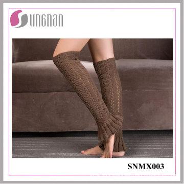 2015 Best Design Winter Leg Warmers Foot Knitting Wool Socks