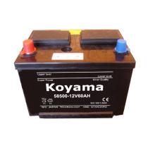 Batería de coche de carga seca -12V60AH-58500