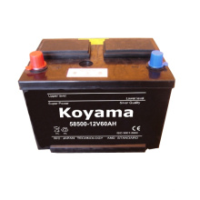 Dry Charge Car Battery -12V60AH-58500