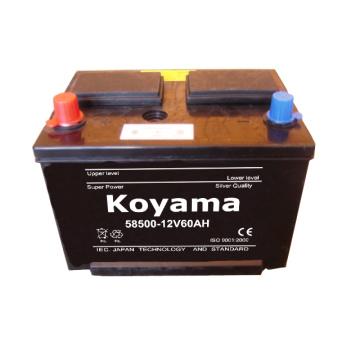Trockenladungs-Autobatterie -12V60AH-58500