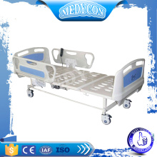 BDE302 CE and ISO approved ABS Side rail medical clinic bed
