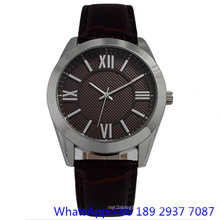 High-Quality Alloy with Swiss Movement Genuine Leather Colorful Dial for Man